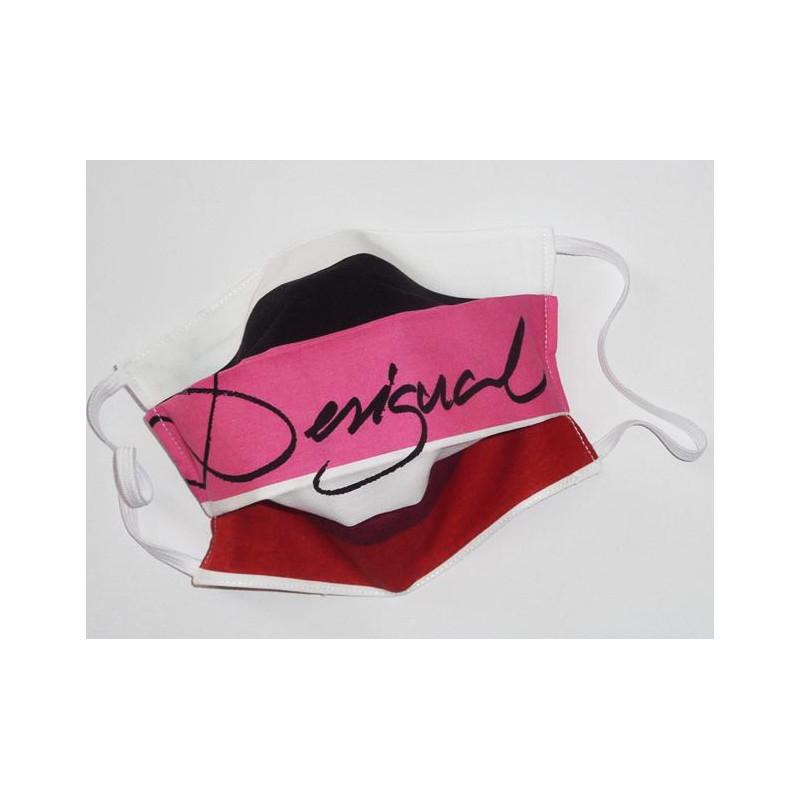 Masque en tissu lavable réversible DESIGUAL