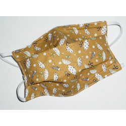 UMBRELLAS reversible washable fabric mask