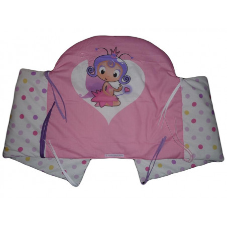Bed bumper ELFIE PRINCESSE