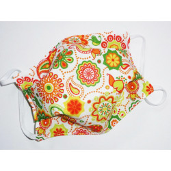 BOHEMIA reversible washable fabric mask