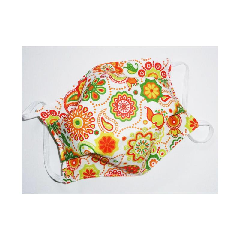 BÖHMEN reversible waschbare Stoffmaske