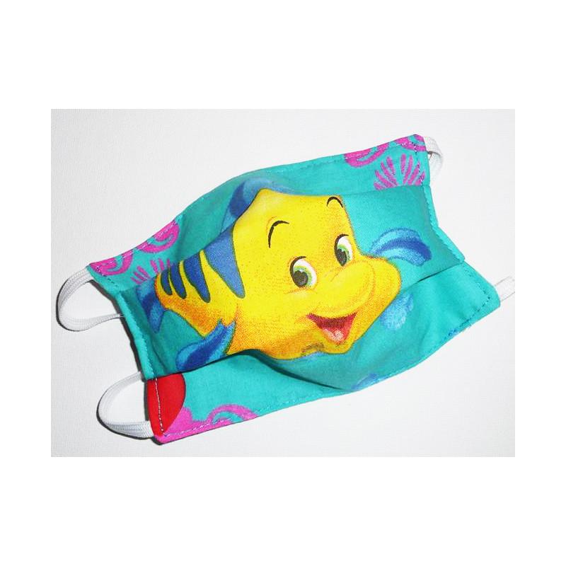 POLOCHON reversible waschbare Stoffmaske für Kinder