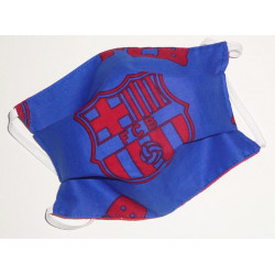 FC BARCELONA reversible washable fabric mask