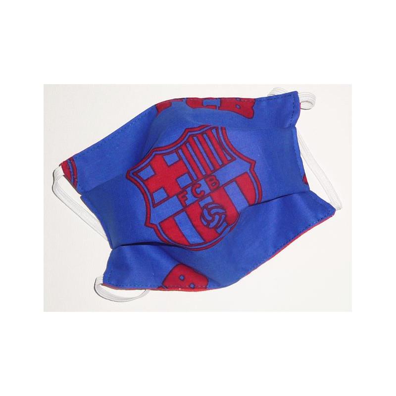FC BARCELONA reversible waschbare Stoffmaske