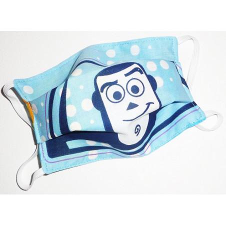 BUZZ BLITZ reversible waschbare Stoffmaske für Kinder