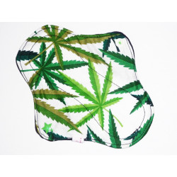 CANNABIS washable panty liner (17 cm)