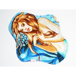 PIN-UP MERMAID washable panty liner (17 cm)