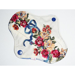 FLOWER washable panty liner (17 cm)