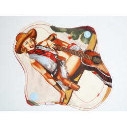 PIN-UP COW-GIRL washable panty liner (17 cm)