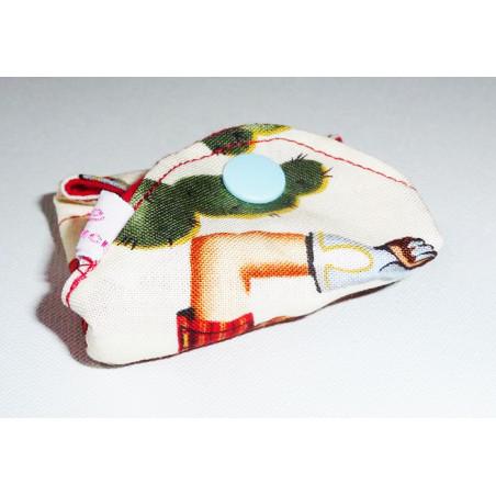 Protège-slip lavable PIN-UP COW-GIRL (17 cm)