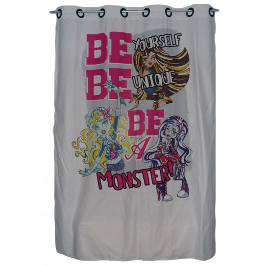 Rideau enfant MONSTER HIGH
