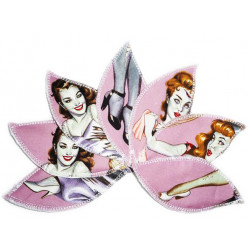 PIN-UP ZOMBIE wasbare interlabiale pad (set van 7) Maat L