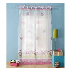 LITTLEST PET SHOP SWEET satin knit sheer curtain fabric