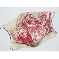 TOILE DE JOUY reversible washable fabric mask