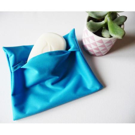 Pochette imperméable lavable et réutilisable TURQUOISE