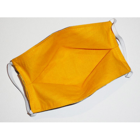 Masque en tissu lavable réversible LA NUIT ÉTOILÉE DE VAN GOGH