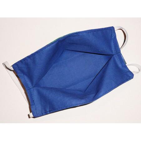 Masque en tissu lavable réversible LES NYMPHEAS DE MONET