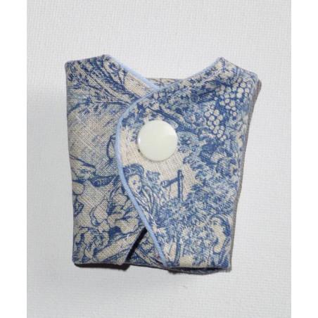 Protège-string lavable TOILE DE JOUY (16 cm)