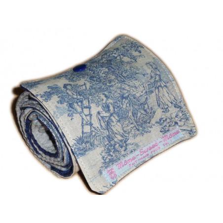 Papier toilette lavable TOILE DE JOUY (10 feuilles)