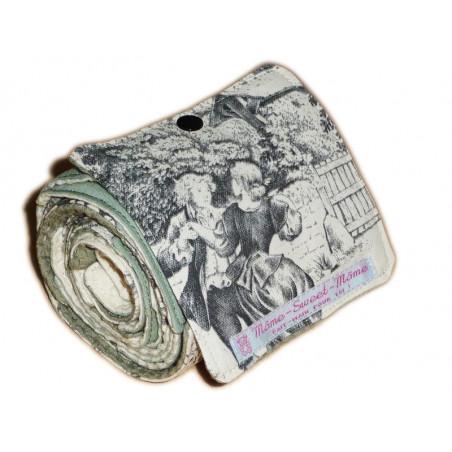Papier toilette lavable TOILE DE JOUY
