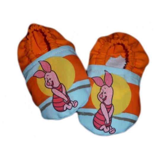 Piglet Baby Booties