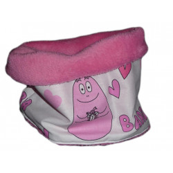 Snood / tour de cou enfant BARBAPAPA