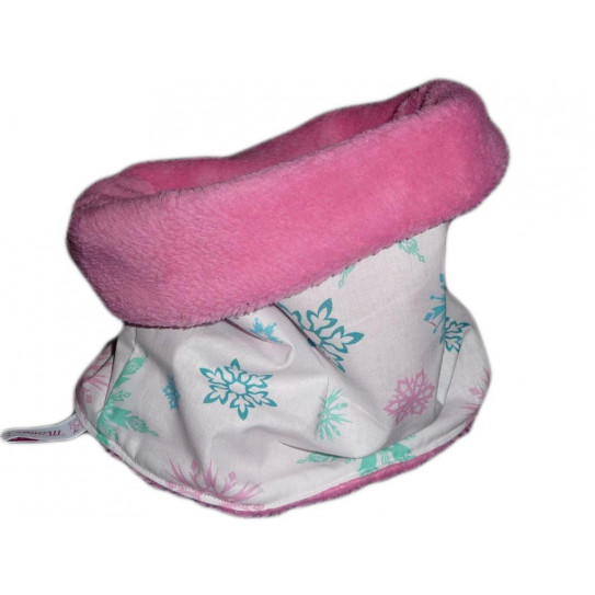 Snood / child choker PINK SNOW