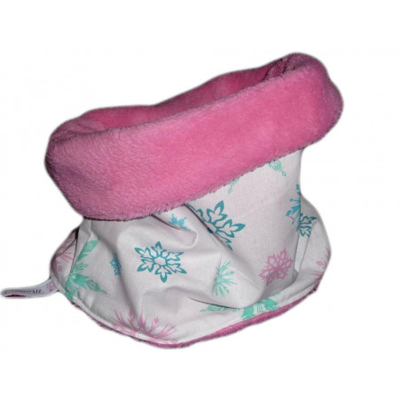 Snood / tour de cou enfant PINK SNOW