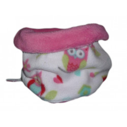 Snood / bambino Chouettes girocollo (Rose)