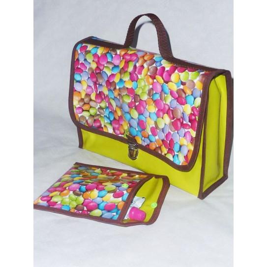 mochila nativo y Snack-Bolsa para las invitaciones para niños