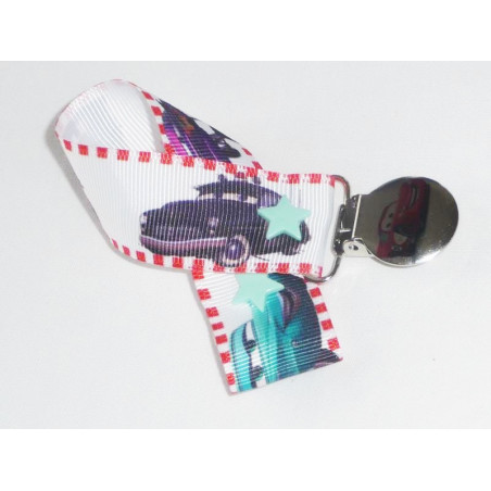 CARS pacifier clip