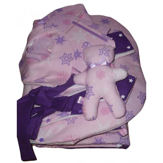 Set completo baby room (8 pezzi) Stelle NEVE