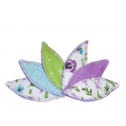 LAVENDER washable interlabial pad (pack of 6) Size : S
