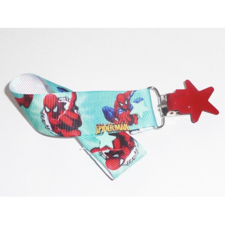 Pacifier clip SPIDERMAN