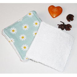 Large washable wipes (pack of 8) DAISY