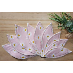 DAISY washable interlabial pad (pack of 9) Size : S-M-L