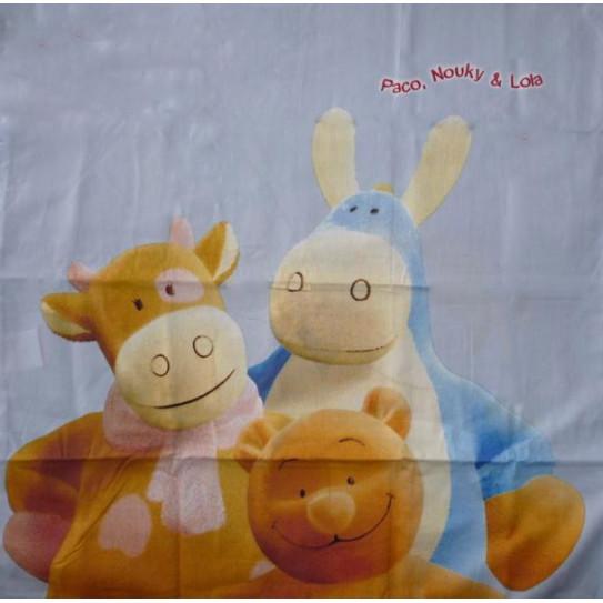 La funda de almohada Nouky LOLA Y PACO (NOUKIE'S)