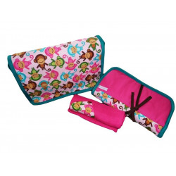 Changing bag + change mattress + baby blanket - WISTY GIRL -