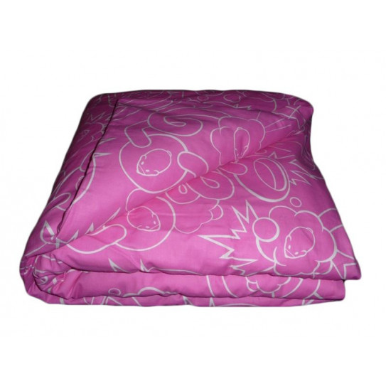 funda de edredón de color rosa de cría de hámster