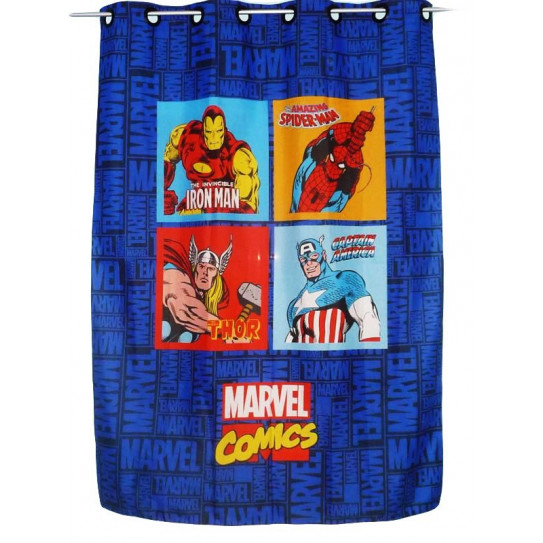 Rideau enfant MARVEL COMICS