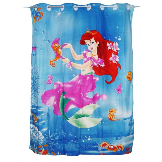 Child curtain ARIEL LA PETITE SIRENE