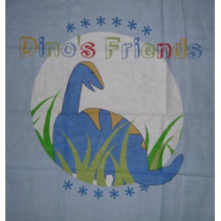 DINOSAURE pillow case