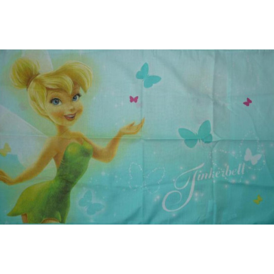taie d oreiller fee clochette Taie d'oreiller   FEE CLOCHETTE (FAIRIES)   48 x 74 cm taie d oreiller fee clochette