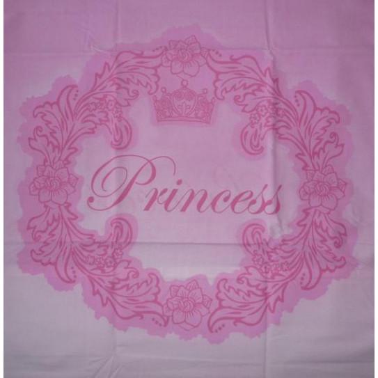 Taie d'oreiller rose PRINCESSES