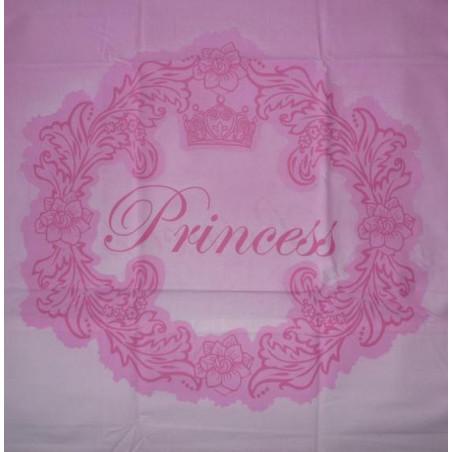 cuscino principessa rosa