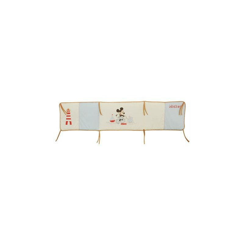 tour de lit b b mickey 40 x 170 cm. Black Bedroom Furniture Sets. Home Design Ideas