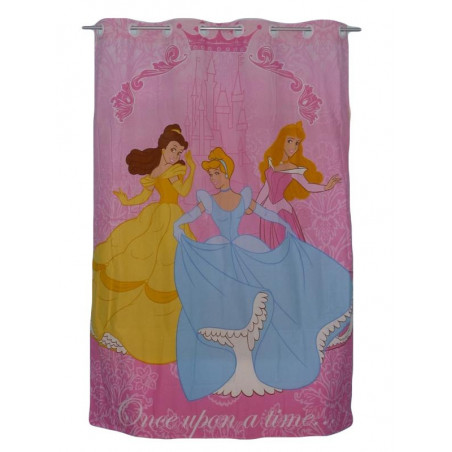 PRINCESSES pink child curtain