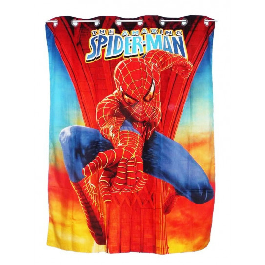 Rideau enfant SPIDERMAN 3D
