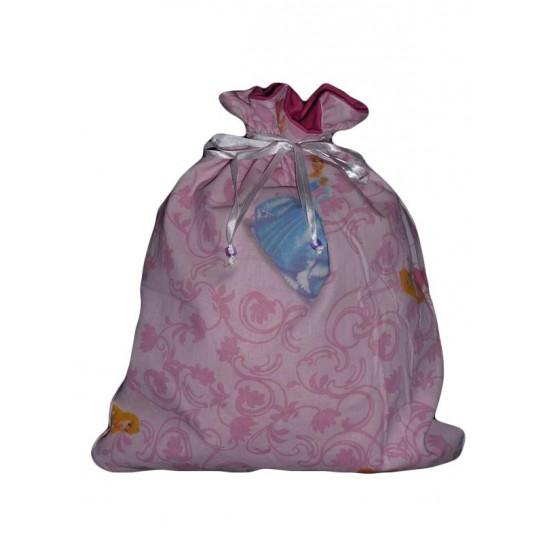 PRINCESSES & RAIPONCE lined laundry bag