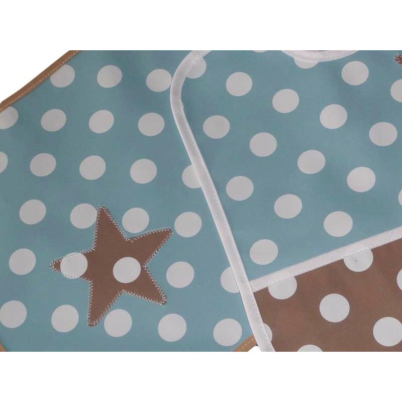Kit bavoir et set de table enfant sweet star for Set de table enfant